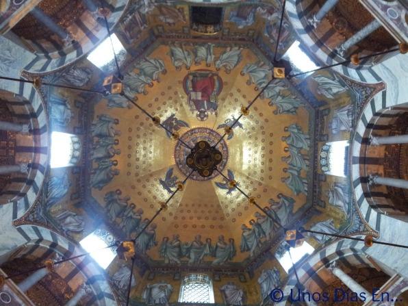 Decoracion de la cupula principal