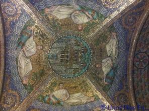Decoracion hecha de mosaico