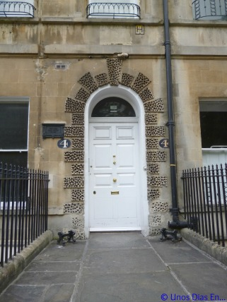 Number 4, Sydney Pl, the house where J.Austen spend 5 years of her life.