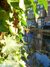 Walking along the canals