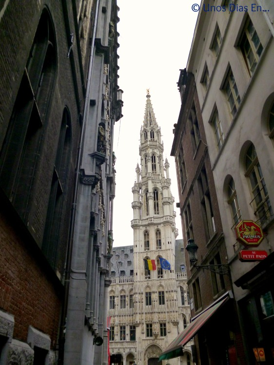 Getting to la Grand Place