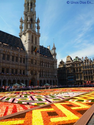Flower Carpet at la Grand Place, they do this every 2 years, this picture is from last year.