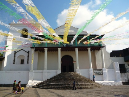Santiago de Atitlan church