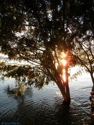 Panajachel , sun set