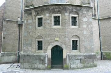 Desde 1584, aquí era la biblioteca de la ciudad hasta 1820.