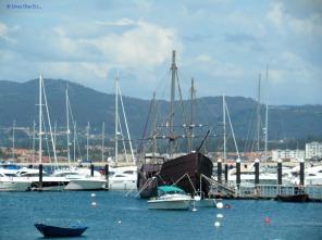 Baiona, reproduction of the ship La Pinta
