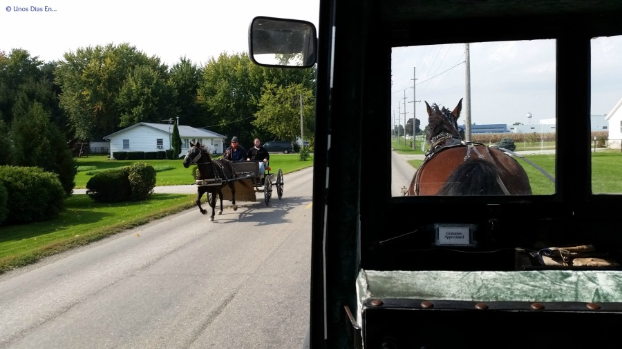 Visiting the Amish towns in Indiana