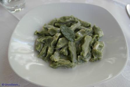 I Gumbi, primi piatti, pasta with sage