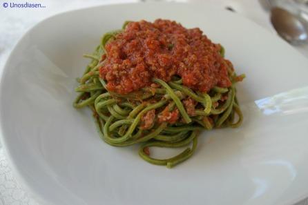 I Gumbi, primi piatti, pasta a la bolognesa
